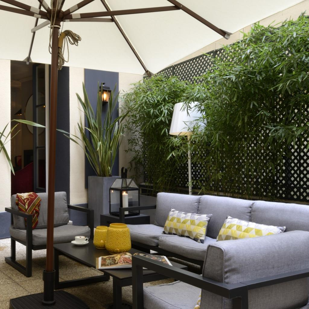 INWOOD HOTELS | LE MARQUIS | Internal garden